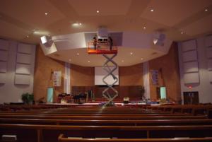 Church Sound - Speaker Installation At Community Pentecostal Church Ottawa